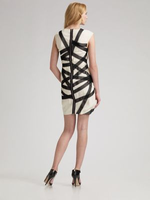 Shibari shift dress